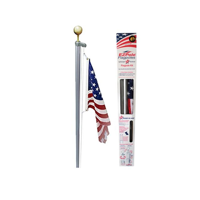 EZ-Pole Classic 21 ft. Sectional Flagpole Kit with Rope