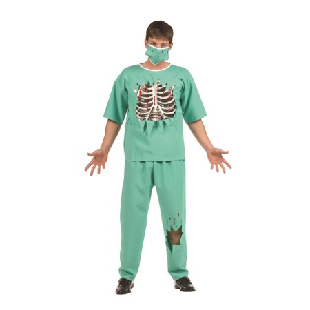 Scary E.R. Male Doctor Teen Costume](Halloween Doctor Names Scary)