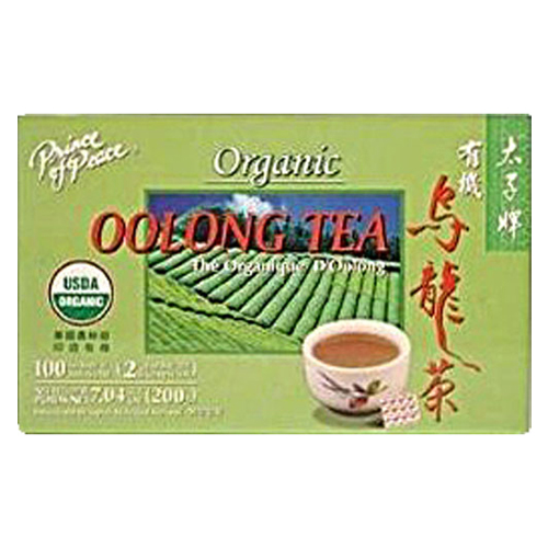 Prince Of Peace Organic Oolong Tea - 100 Bags, 2 Pack