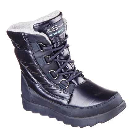 Skechers 34355 NVY Women s BOBS MEMENTOS - SNOW CAP Boot 0f2a45f8f73