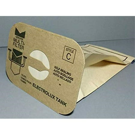 24 Aerus Electrolux Canister Style C Vacuum Cleaner Bags, Made In USA. Electrolux Vacuum Cleaner Replacement Bag
