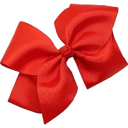 Beautiful Handmade Girls Hair Bows Grosgrain Ribbon Bows with Alligator Clip