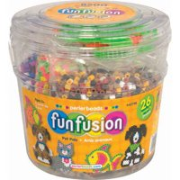 Perler Bead Pet Pals Bucket, 8500 Pieces and 3 Pegboards
