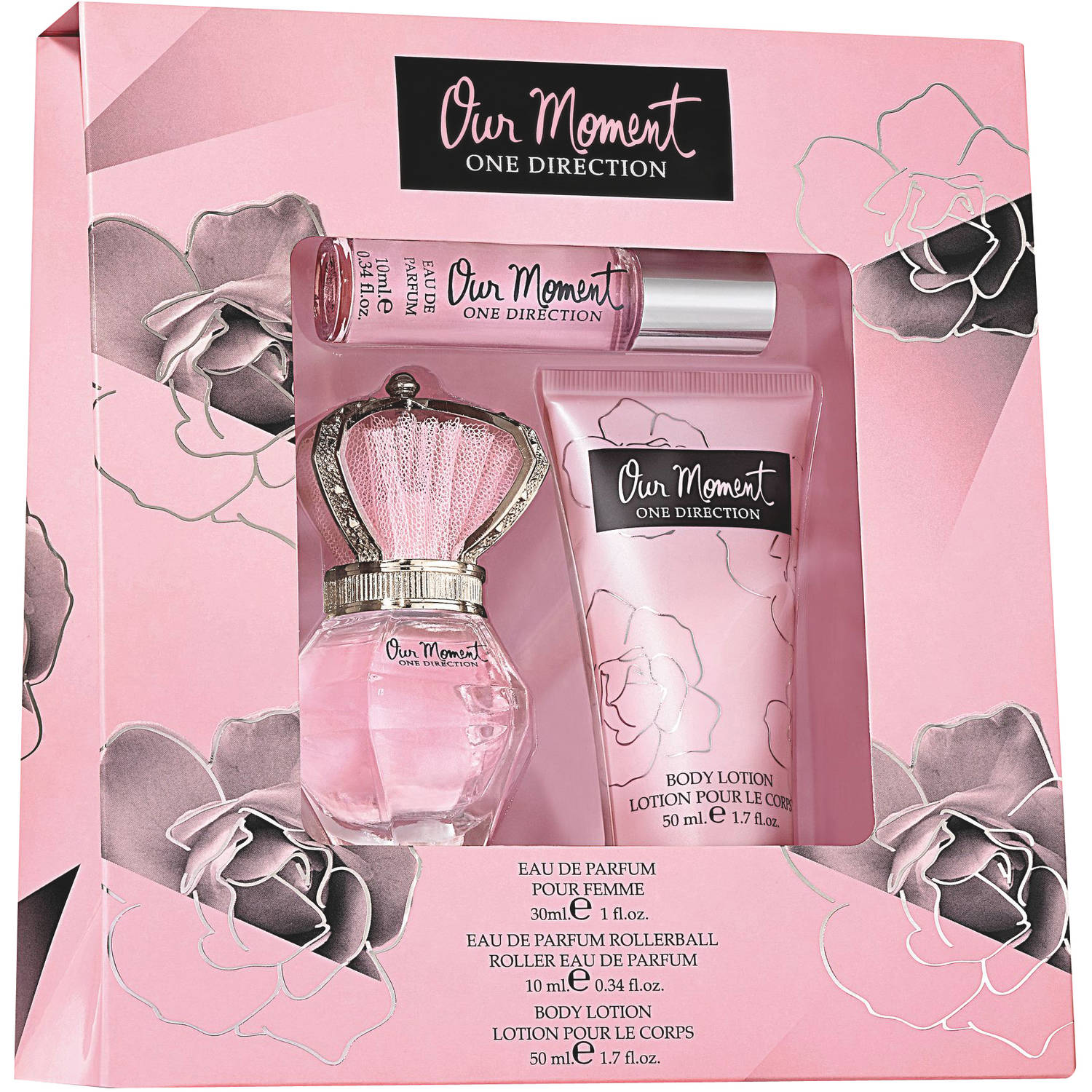 One Direction Our Moment for Women Fragrance Gift Set, 3 pc