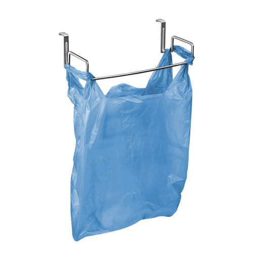 Lynk Over Cabinet Door Organizer Plastic Bag Holder