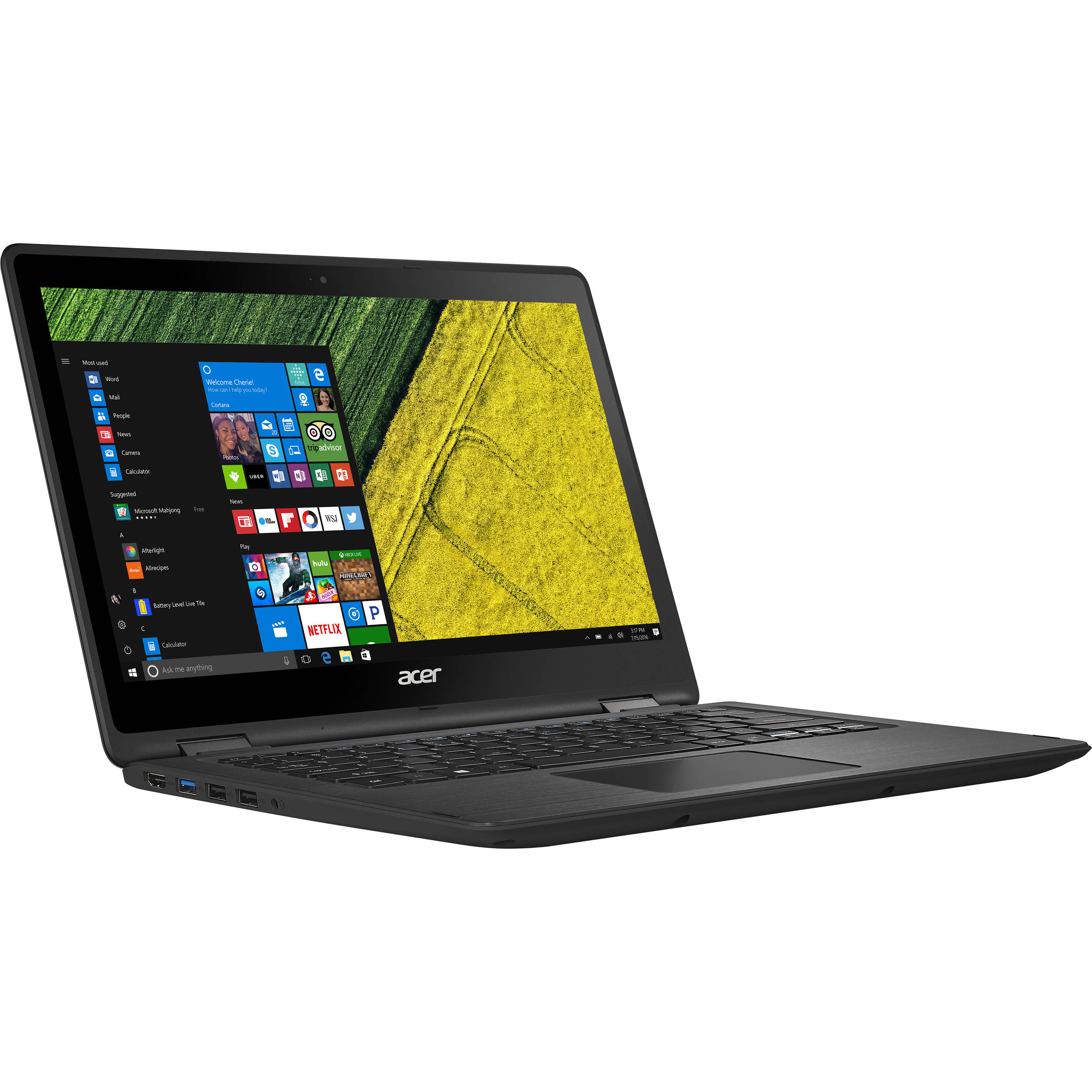 "Acer Spin SP515-51GN SP515-51GN-807G 15.6"" Intel Core i7 i7-8550U 8GB DDR4 1TB HDD Windows 10 Home 1920 x 1080 IPS... by Acer"