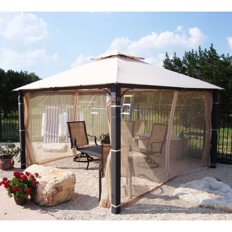 Garden Winds Replacement Canopy Top for 12x12 Medallion Gazebo
