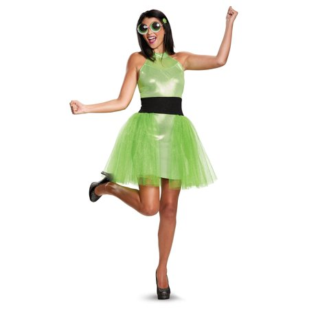 Halloween Powerpuff Girls (Powerpuff Girls Buttercup Deluxe Adult)
