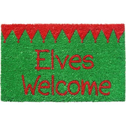 Entryways Sweet Home Elves Welcome Doormat