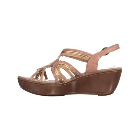 4e111a35ab BareTraps Dangle Open Toe Wedge Sandals, Peach/Copper - image 1 of 6 ...