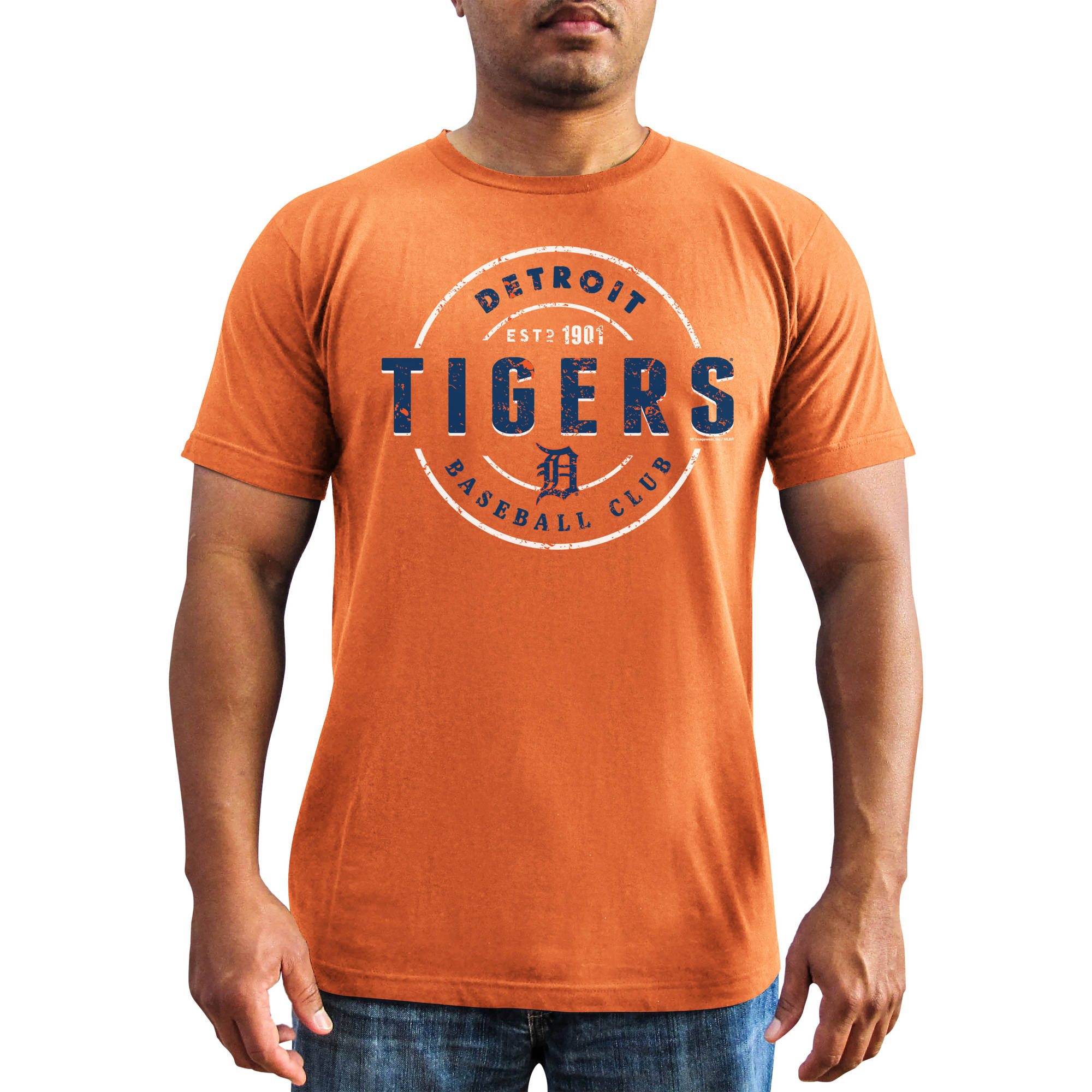 MLB - Mens Detroit Tigers Short Sleeve Team Tee