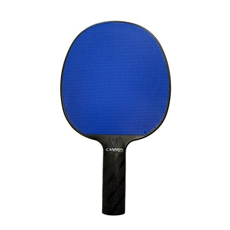 Cannon Sports Royal Blue Rubber Face Unbreakable Table Tennis Paddle