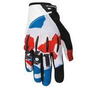 "SixSixOne, Evo II Glove RWB L with D30 Impact Protection (L = 10"")"