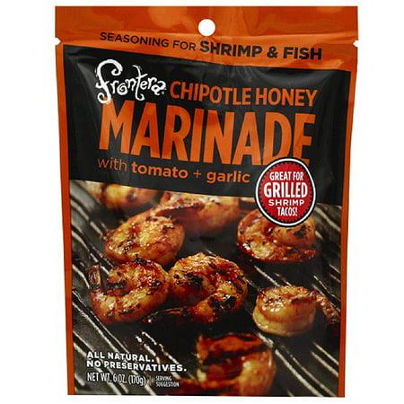 Frontera Chipotle Honey Marinade, 6 oz, (Pack of 6) Honey Chipotle Glaze
