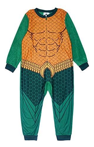 Batman Super Hero Boys Muscle Costume Fleece Pajama Sleeper