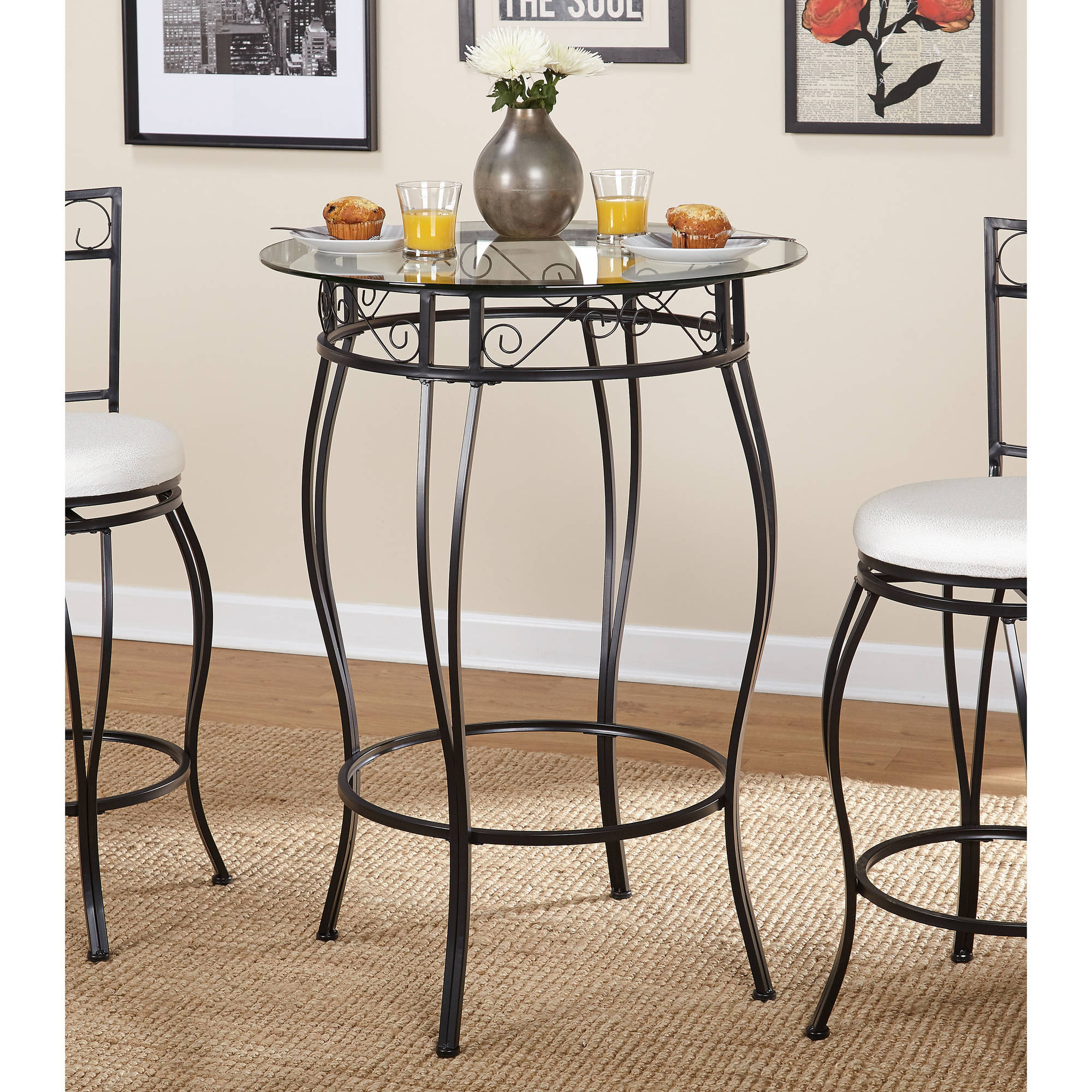 Gabriella Pub Table, Metal by n/a