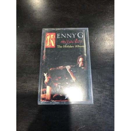 Miracles: The Holiday Album by Kenny G (Cassette, Oct-1995, Arista)