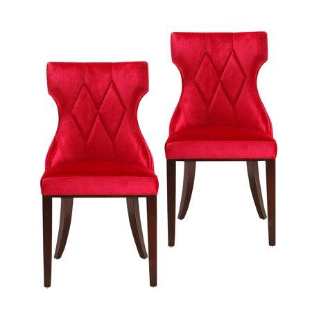 Ceets Reine Velvet Dining Chair Set Of 2