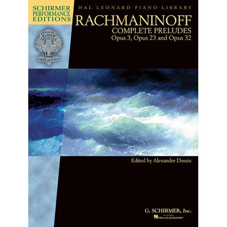 Rachmaninoff - Complete Preludes for Piano, Op. 3, 23, and (Rachmaninoff Op 23 No 5 Sheet Music)