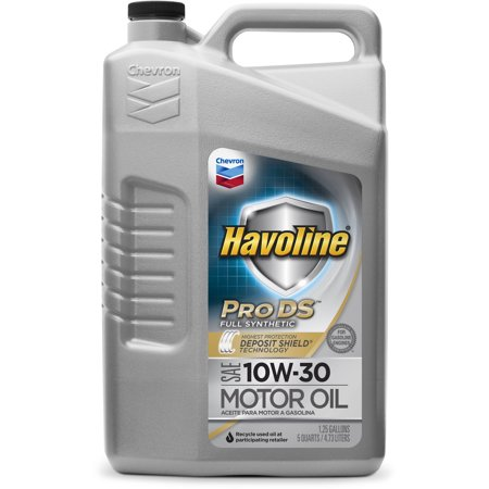 Havoline prods synthetic motor oil 10w30 for What s the difference between 5w20 and 5w30 motor oil