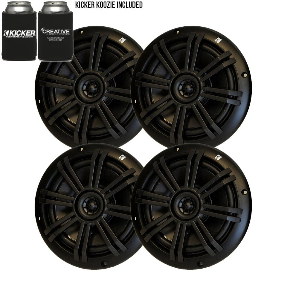 """Kicker 6.5"""" Marine Speakers (QTY 4) 2 pair of OEM replacement speakers"""