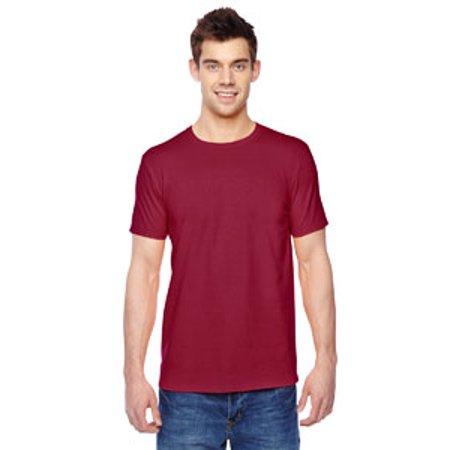 Fruit of the Loom Adult 4.7 oz. Sofspun® Jersey Crew T-Shirt SF45R Adult Basketball Jersey Shirt