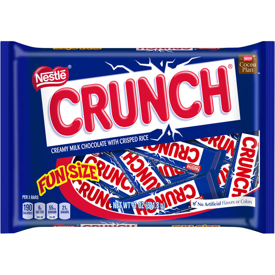 Nestle Crunch Fun Size Candy Bars, 11 oz