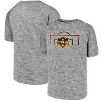 Houston Dynamo Fanatics Branded Youth Just Getting Started Raglan T-Shirt - Heathered Gray