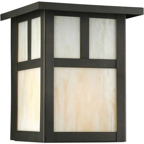 Forte Lighting  1069-01  Wall Sconces  Craftsman  Outdoor Lighting  Outdoor Wall Sconces  ;Royal Bronze