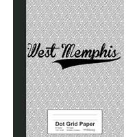 Dot Grid Paper : WEST MEMPHIS Notebook