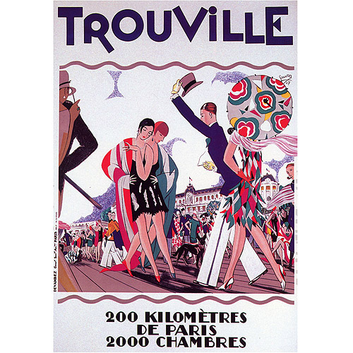 "Trademark Fine Art ""Trouville"" Canvas Art, 24x32"