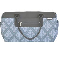 JJ Cole Parker Diaper Bag Blue Iris