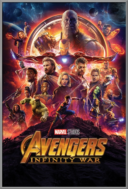 "Avengers: Infinity War Movie Poster   Print (Regular Style) (Size: 24"" x 36"") by"