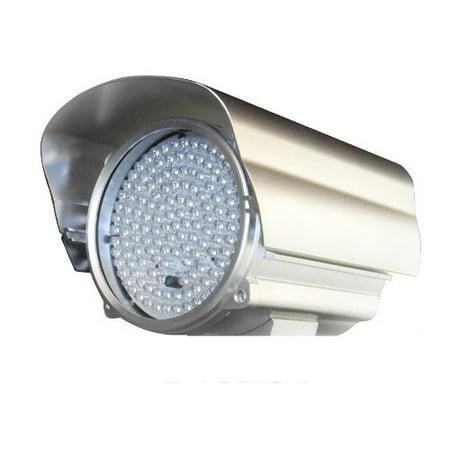 Cop Security 15-IR32W 210-Feet 850nm 140pcs LED 45 Degrees IR Illuminator (Silver)
