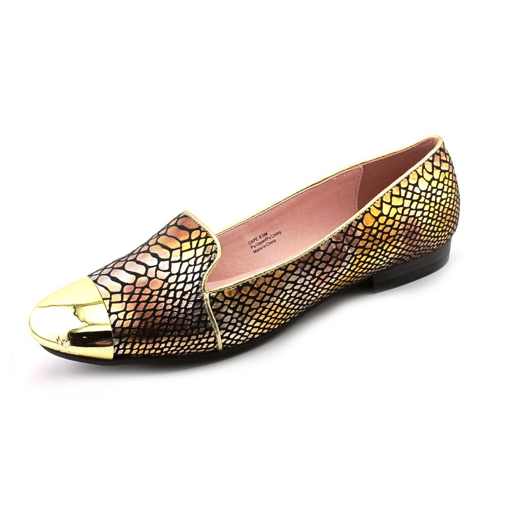 Bellini Cape Women  Round Toe Synthetic Gold Loafer