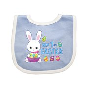My 1st Easter with Bunny and Easter Basket Baby Bib