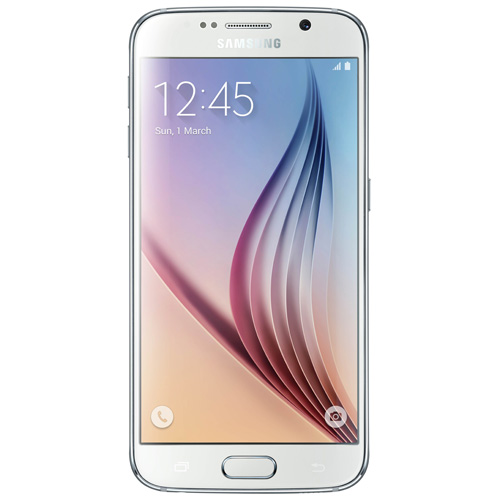 Galaxy S6 32GB / SM-G920i White Pearl (International Model) Unlocked GSM Mobile Phone
