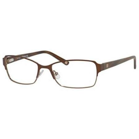 LIZ CLAIBORNE Eyeglasses 622 0EW7 Dark Brown (Rb2132 New Wayfarer 622 52)