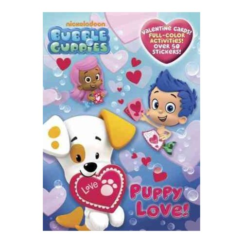 Puppy Love!: Valentine Cards, Full-color Activities With over 50 Stickers