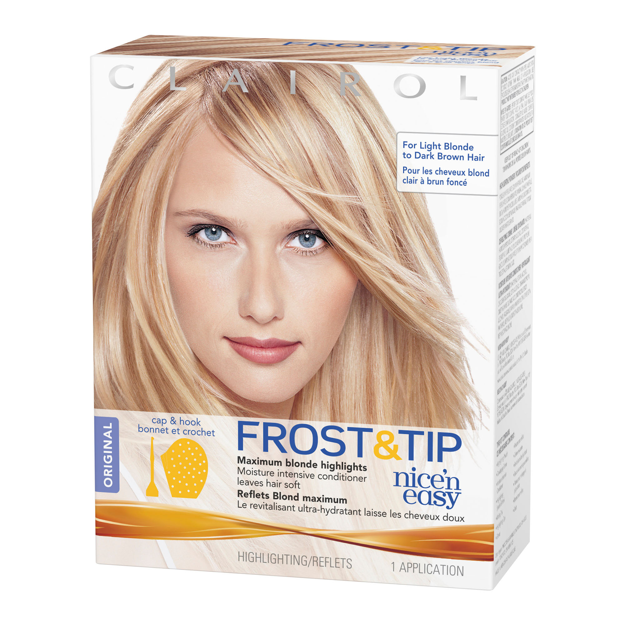 Clairol Nice N Easy Frost Tip Original Hair Highlighting Kit