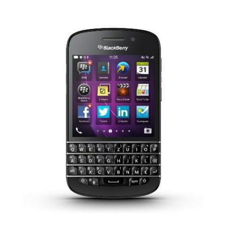 Blackberry Q10 Unlocked Cellphone, 16GB, Black (Best Cheap Mobile Deals)