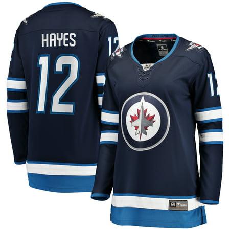 competitive price 82447 da7c6 Kevin Hayes Winnipeg Jets Fanatics Branded Women's Home Breakaway Player  Jersey - Navy