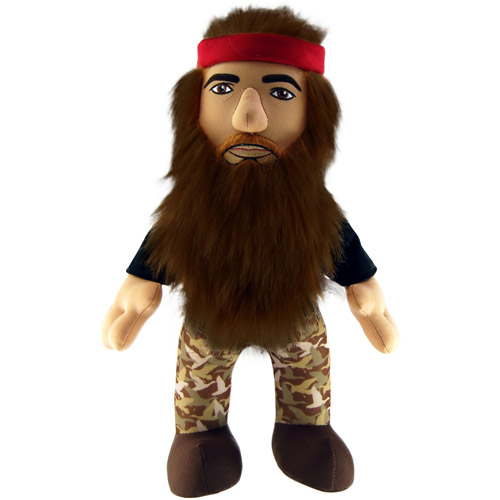 "Duck Dynasty 13"" Plush with Sound, Willie"