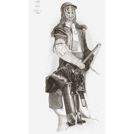 Armour Worn By James Ii At The Battle Of The Boyne 1690 From The Book Short History Of The English People By JR Green Published London 1893 Canvas Art - Ken Welsh  Design Pics (11 x 19)](Halloween History Pics)
