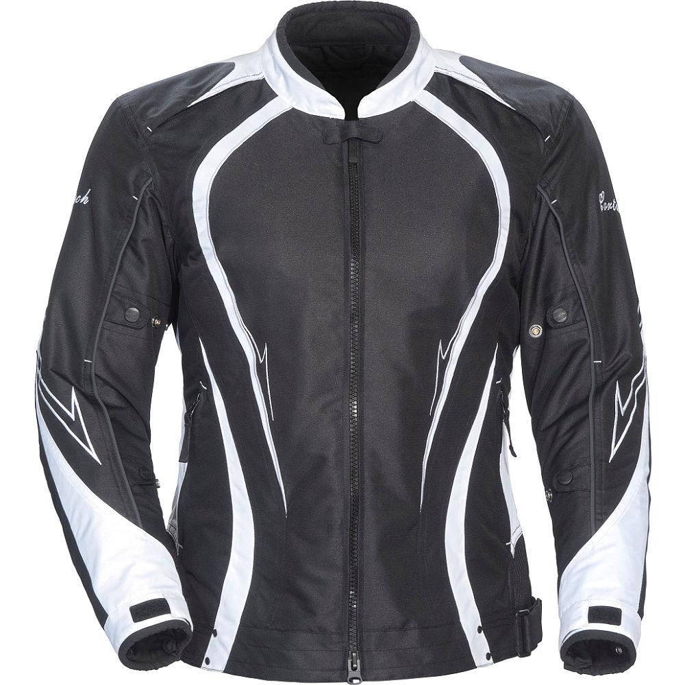 Cortech LRX Series 3 Womens Jacket Black/White