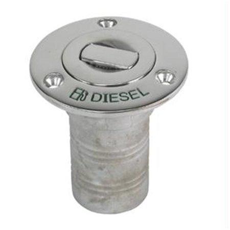 Whitecap Bluewater Push Up Deck Fill - 2   Hose - Gas - 6894CBLUE ()