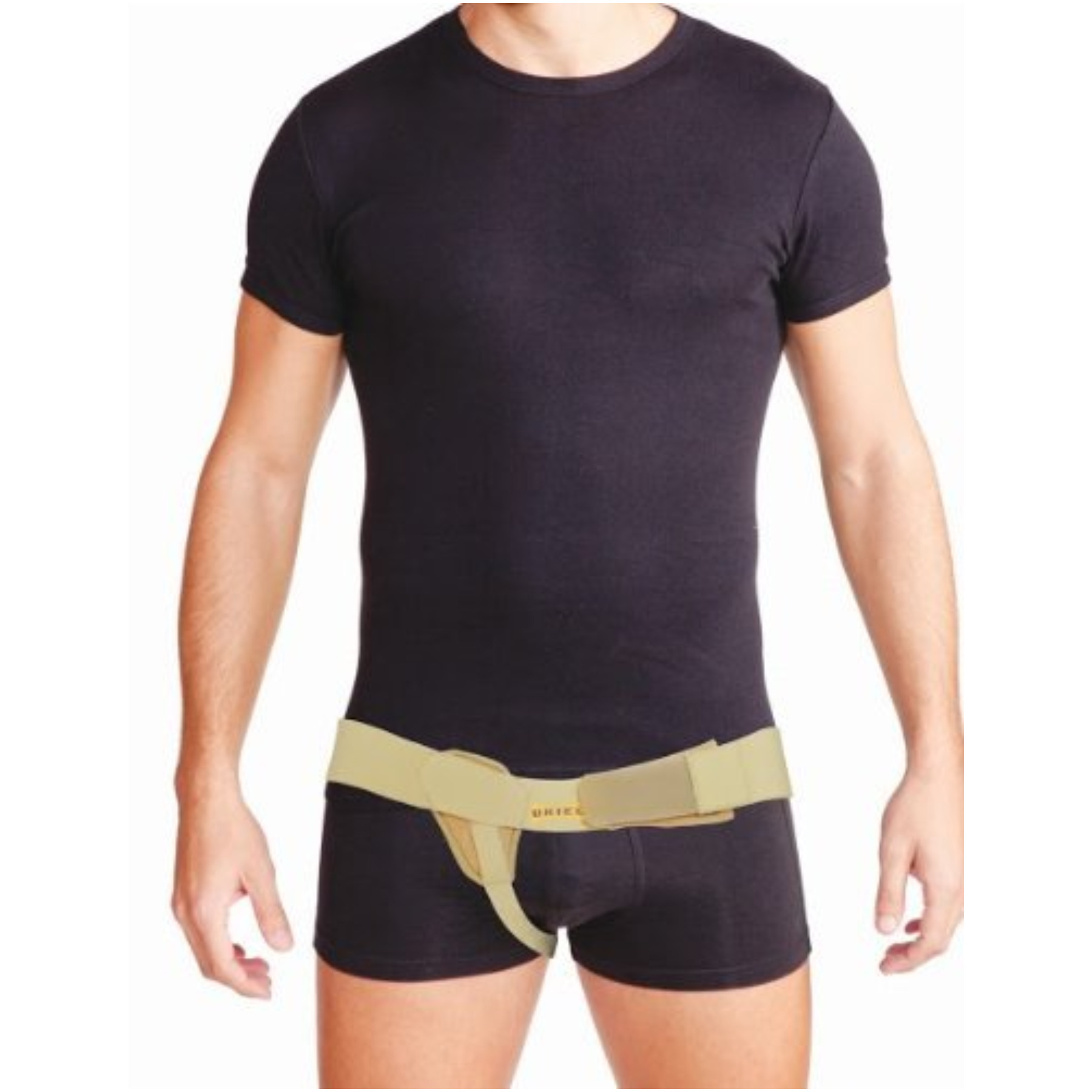 Meditex Uriel Right Side Inguinal Hernia Support Truss Belt with Compression Pad