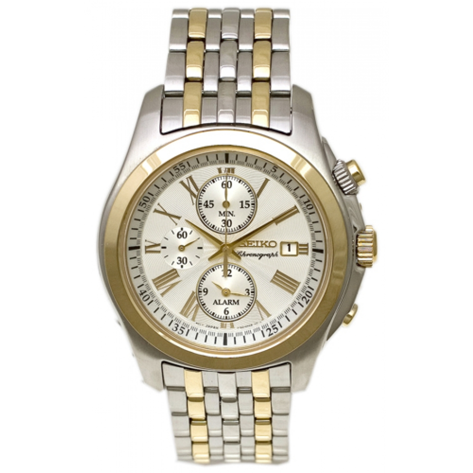 Seiko Men's Classic Watch Watch Japanese quartz Hardlex Crystal SNAE32