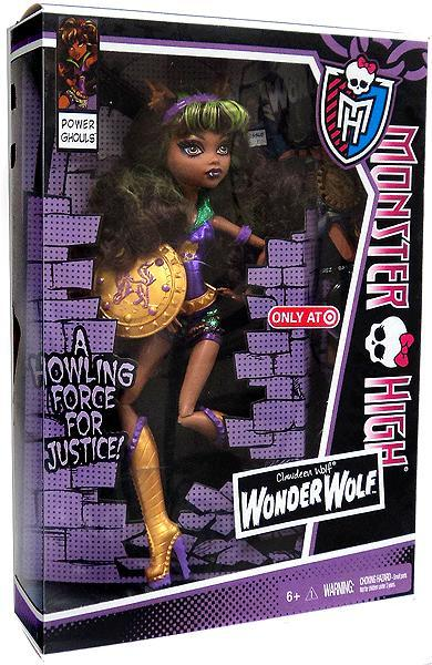"Monster High Power Ghouls Clawdeen Wolf Exclusive 10.5"" Doll [Wonder Wolf] by"