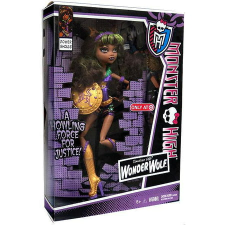 Monster High Power Ghouls Clawdeen Wolf Exclusive 10.5